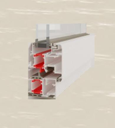 Finestra-Alluminio-Sezione