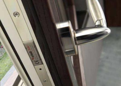 Finestre e Portefinestre in PVC/Legno