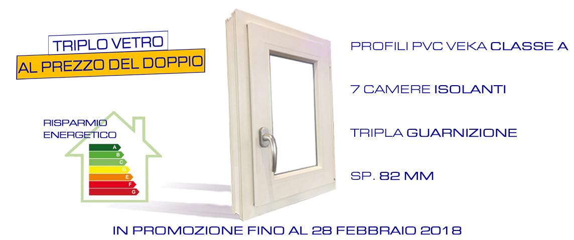 Promozione serramenti in pvc triplo vetro finestre milano - Finestre triplo vetro ...