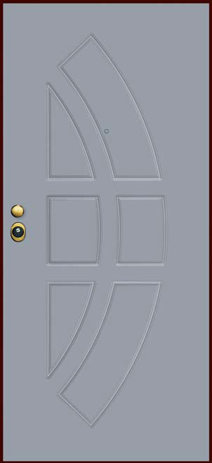 Porte-Blindate-Serramenti-di-Sicurezza-Emme-Serramenti-pannello-RAL7040-1
